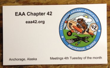 EAA 42 Business Card
